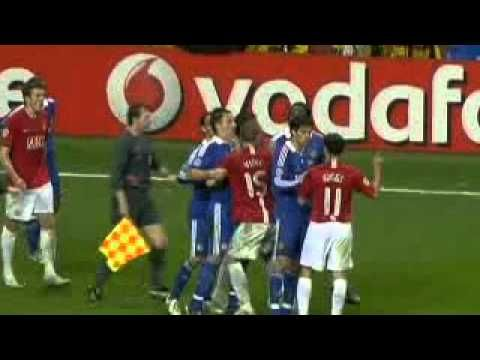 Manchester United Vs Chelsea Ucl Final 2007 08 With Images Manchester United
