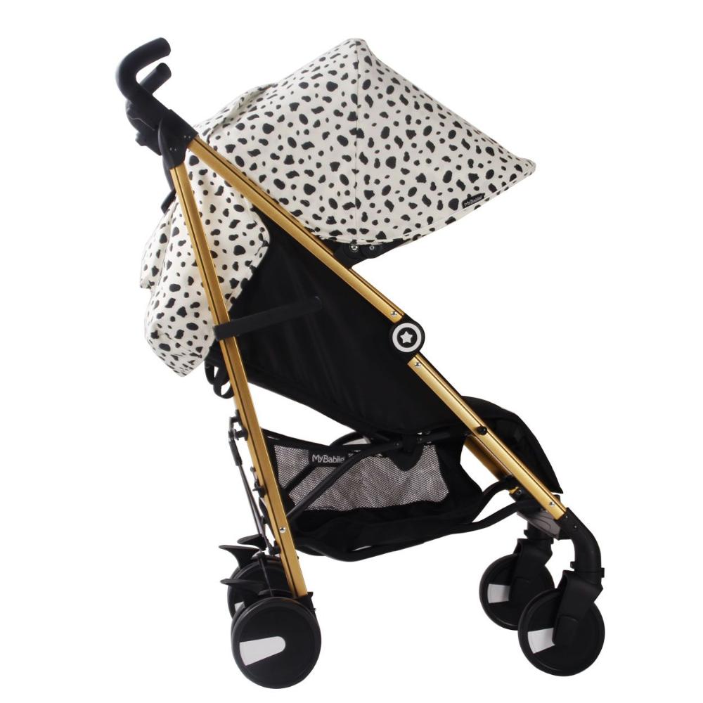 My Babiie Catwalk Dalmatian Print Lightweight Stroller