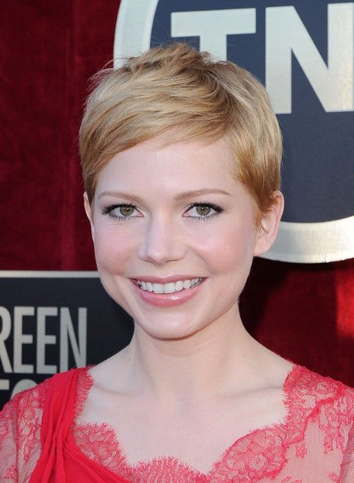michelle williams pixie cut for 2014 short straight