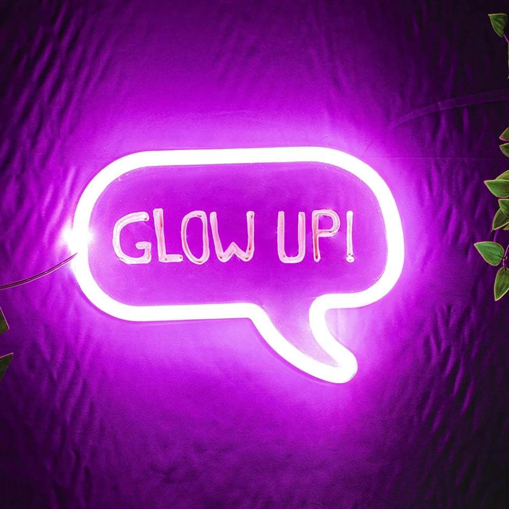 Write On Neon Bubble Light Purple Aesthetic Purple Wallpaper Iphone Neon