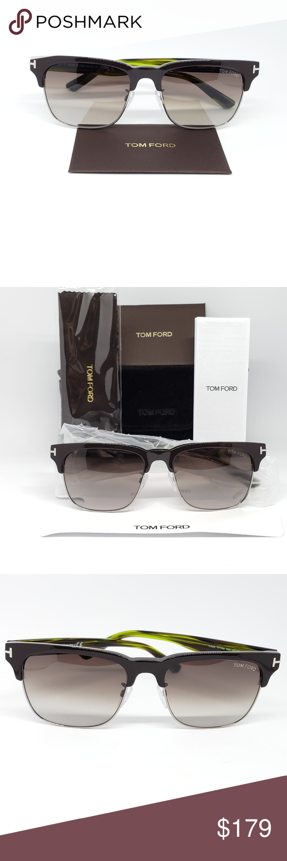 e9cefdee0931 Tom Ford Sunglasses Brown Green frame Louis Brand New, never used, never  worn Comes