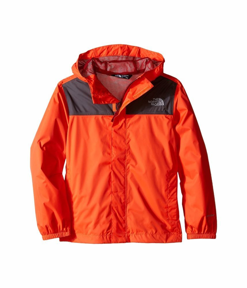 NWT Sale THE NORTH FACE Kids Youth Zipline Rain Jacket Coat ...
