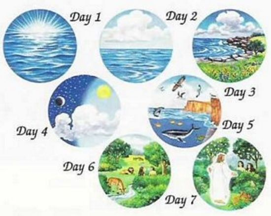 pictures when god first created the world | THE FIRST DAY | God is ...