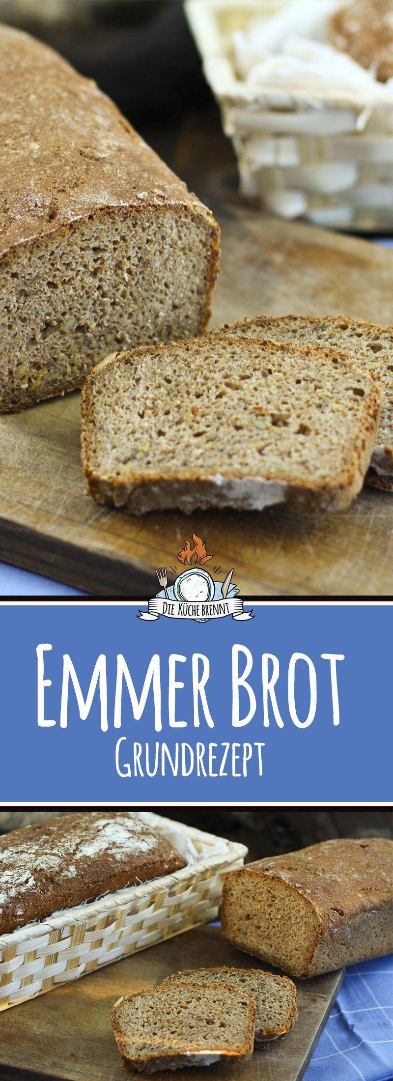 Reines Emmerbrot Rezept Backen Mit Emmermehl Brot Selber Backen Brot Backen Rezept Einfach Brot Backen