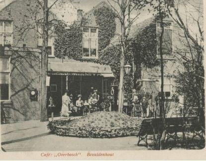 Cafe overbosch bezuidenhoutseweg den haag denhaag