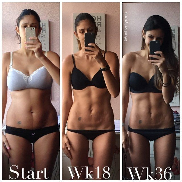 Bikini body guide before and after