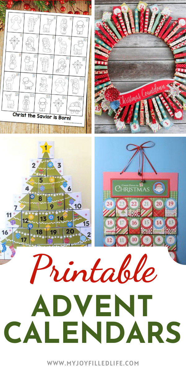 Free Printable Advent Calendars In 2020 Printable Advent Calendar Advent Calendar Activities Christmas Advent Calendar