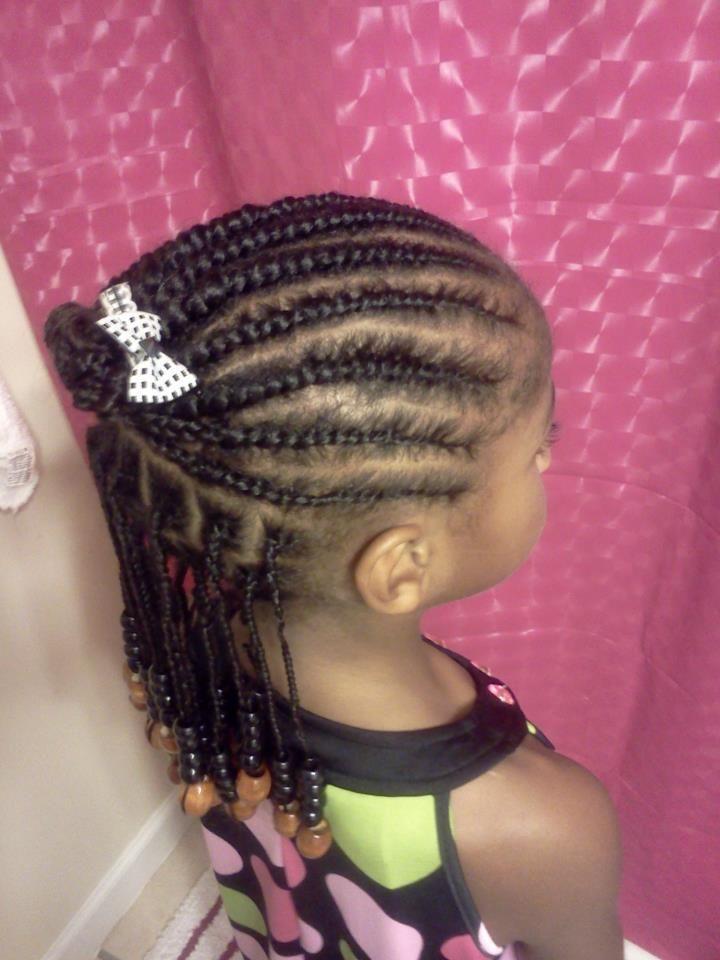 Cornrow Hairstyles For Black Kids