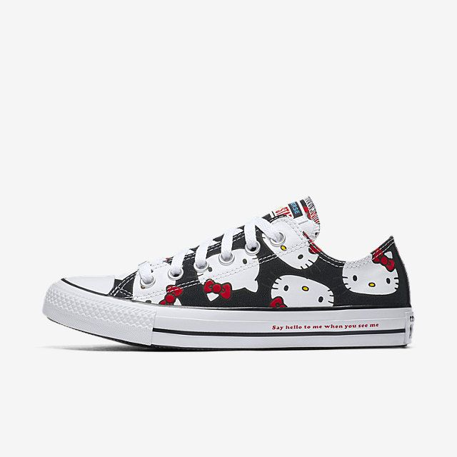 converse nere canvas