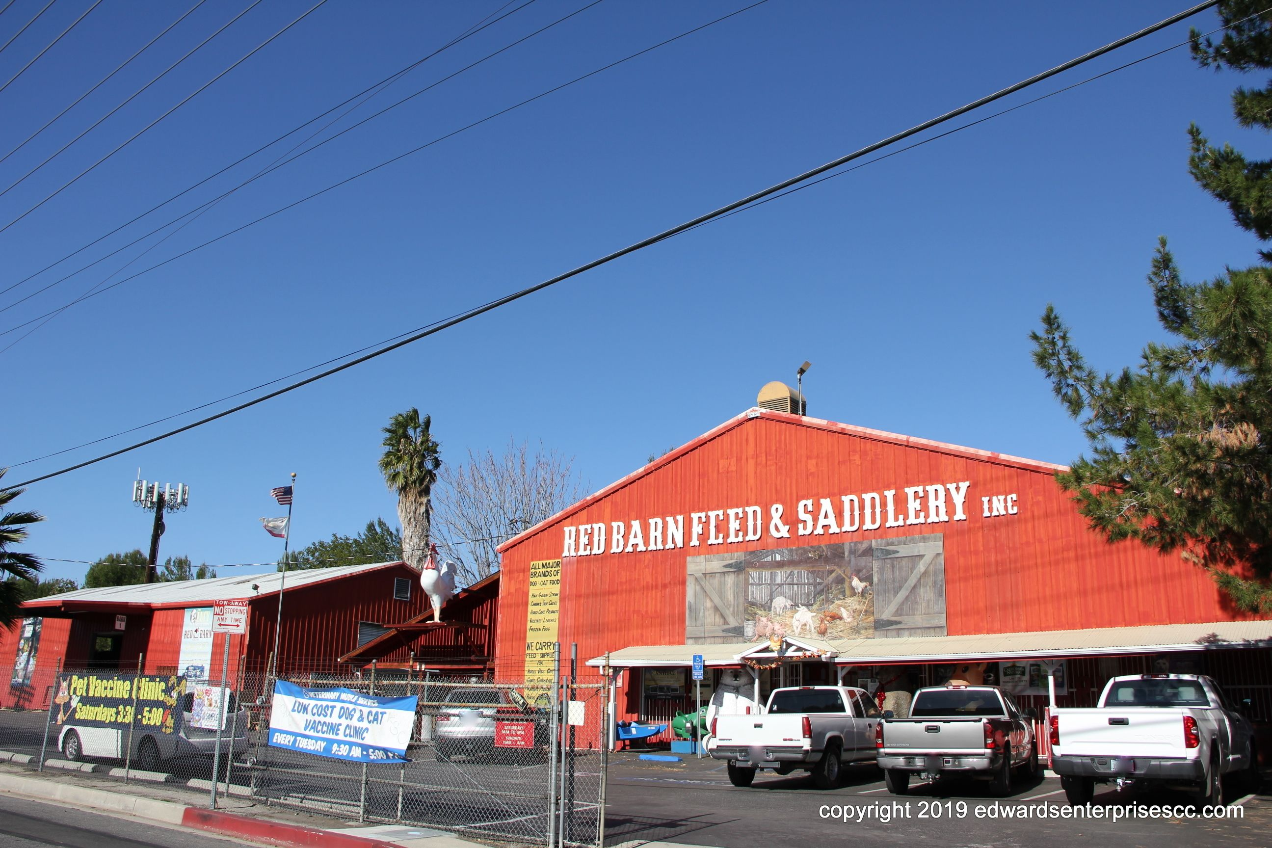 The Red Barn Feed Saddlery In Tarzana Has Been Serving Tarzana For Over 50 Years With Pet Supplies Livestock Needs And Low Cos Red Barn Wood Repair Remodel