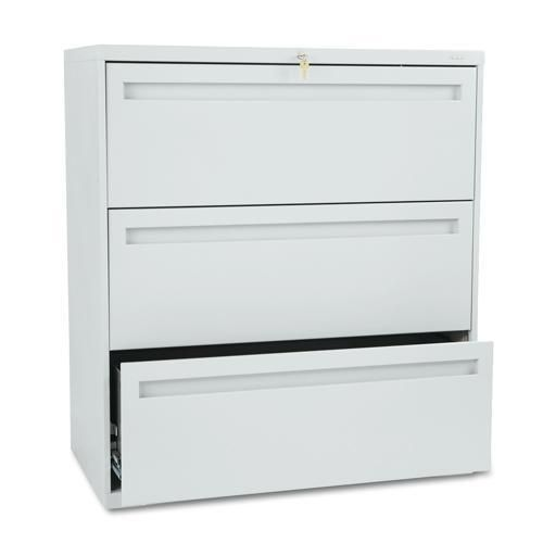 Best Hon 700 Series 36 Inch Wide Three Drawer Lateral File Gray 400 x 300