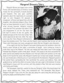 Titanic! Nonfiction Text Features & Comparing Multiple