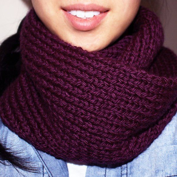 Free+Knitting+Pattern+-+Scarves:+Acai+Infinity+Circle+Scarf | DIY ...