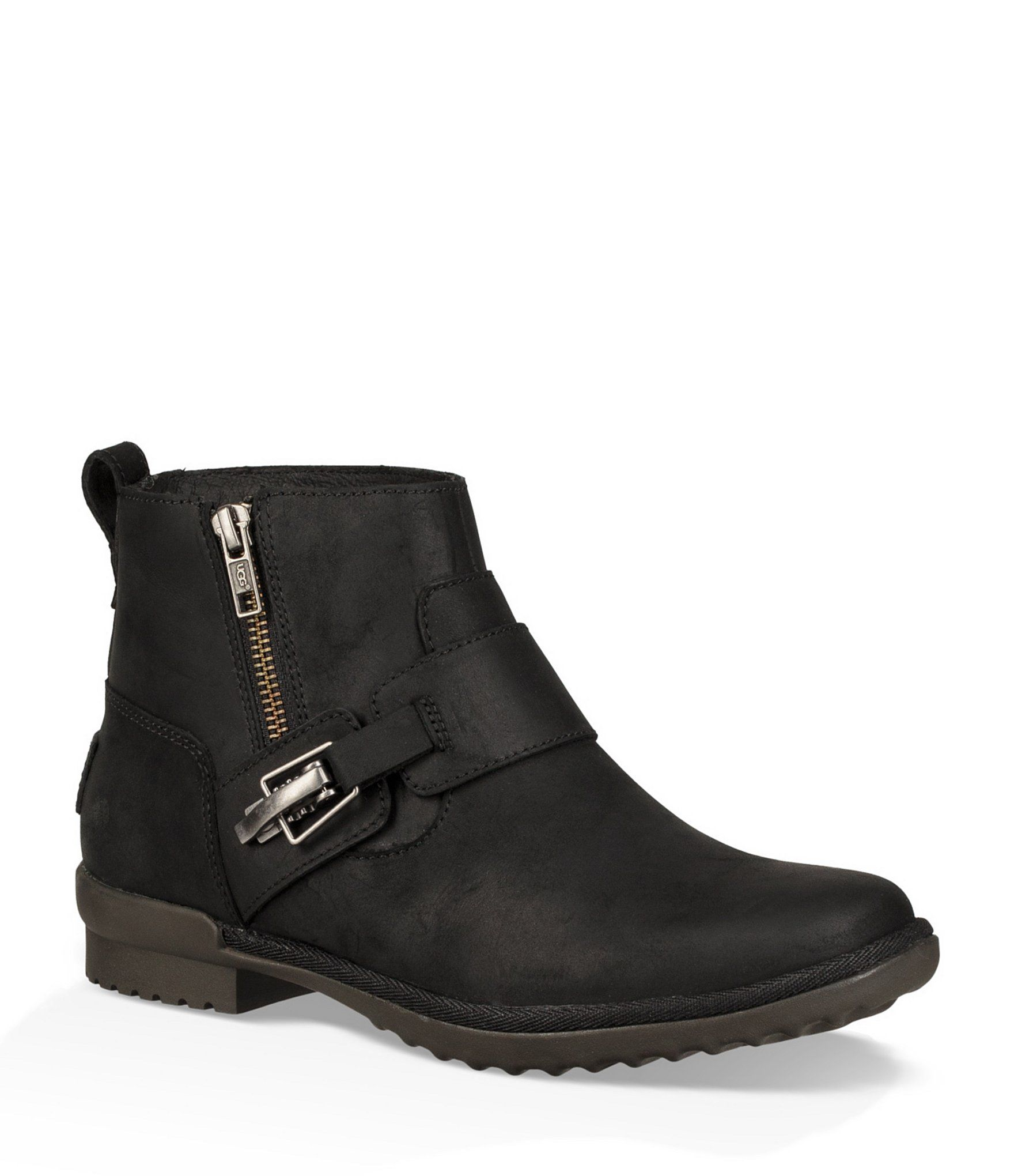 f3205fa2e49 Shop for UGG® Cheyne Waterproof Leather Buckle Detail Booties at ...