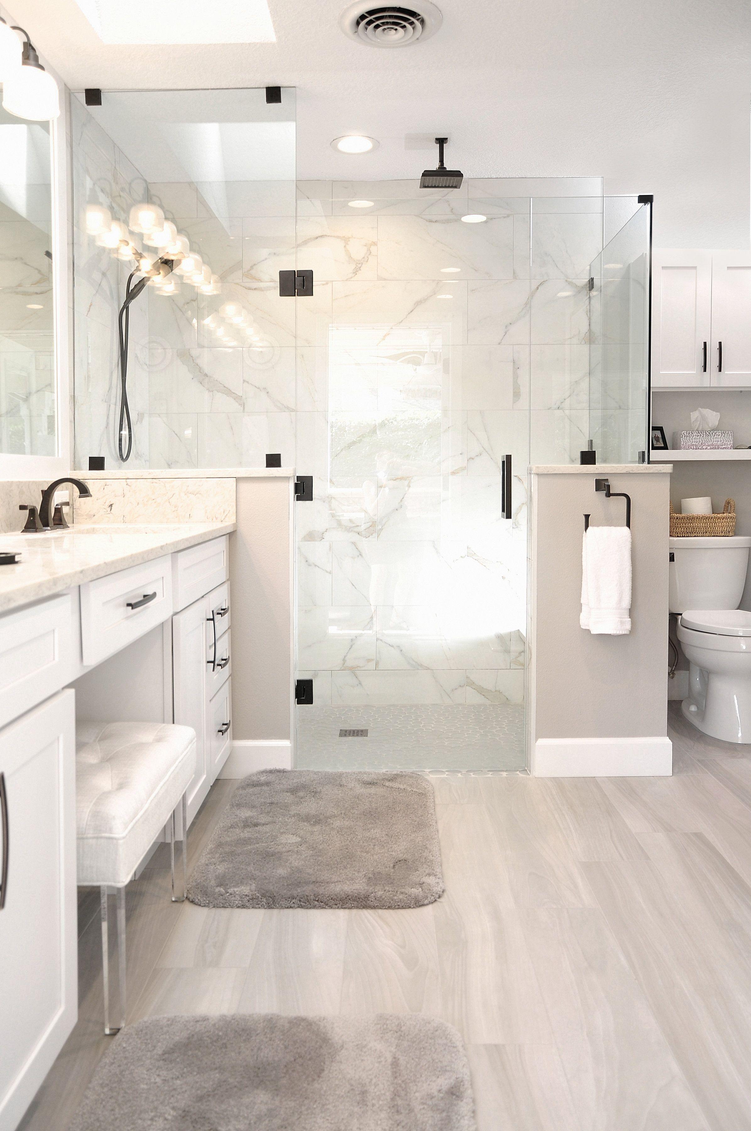 Bright Neutral Bathroom Remodel Bathroom Design Small Bathrooms Remodel Bathroom Color Schemes
