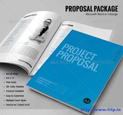 50 Best Business Proposal Template Print Templates 2015 Proposal