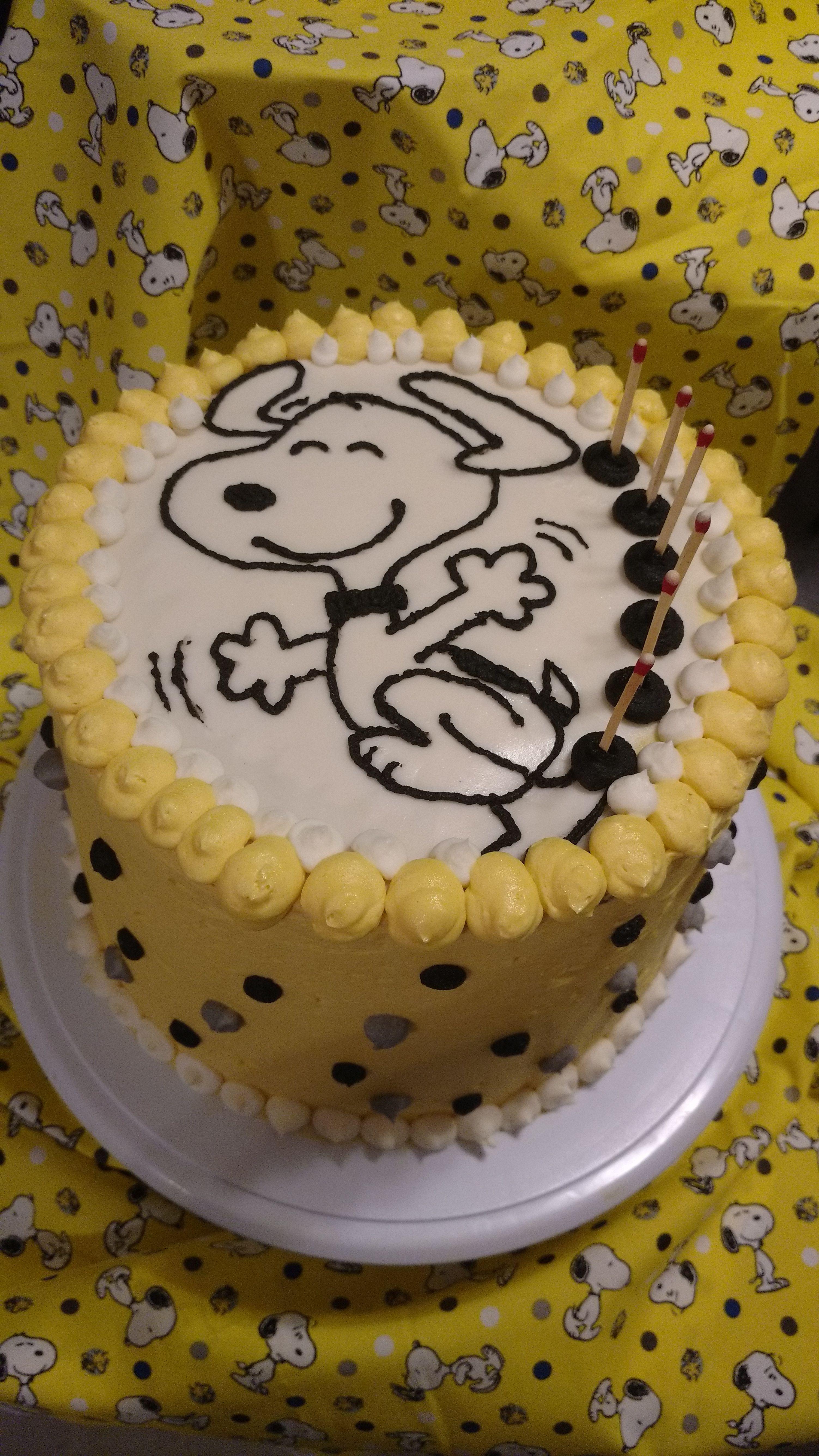 Snoopy Birthday Cake For My Fav Joe Cool Who Turned 60