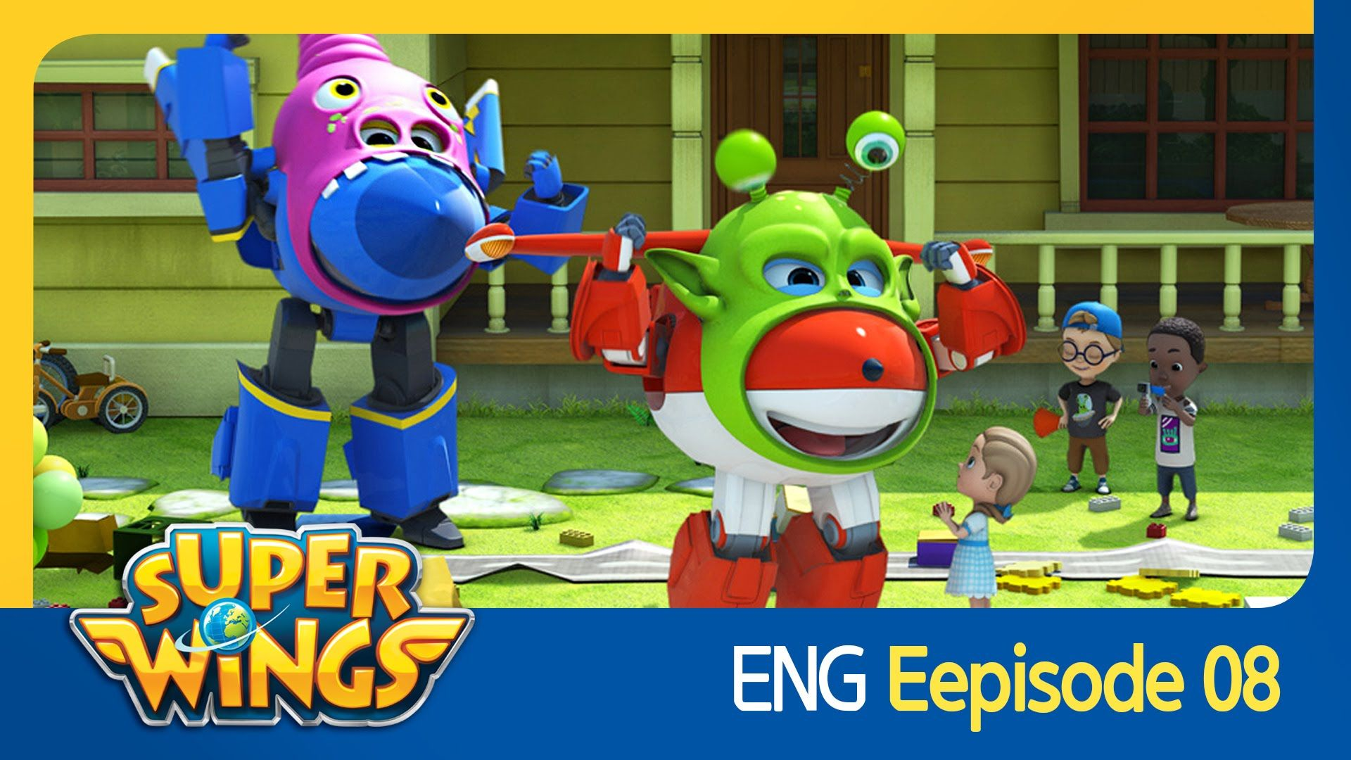 Super Wings Episode 8 Lights Camera Action Hollywood