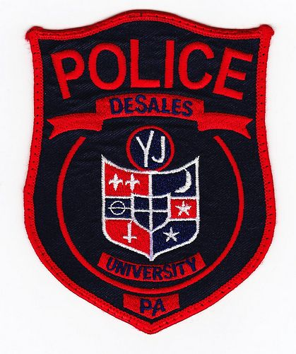 Pa Desales University Police Department Police Department Police Patches Police