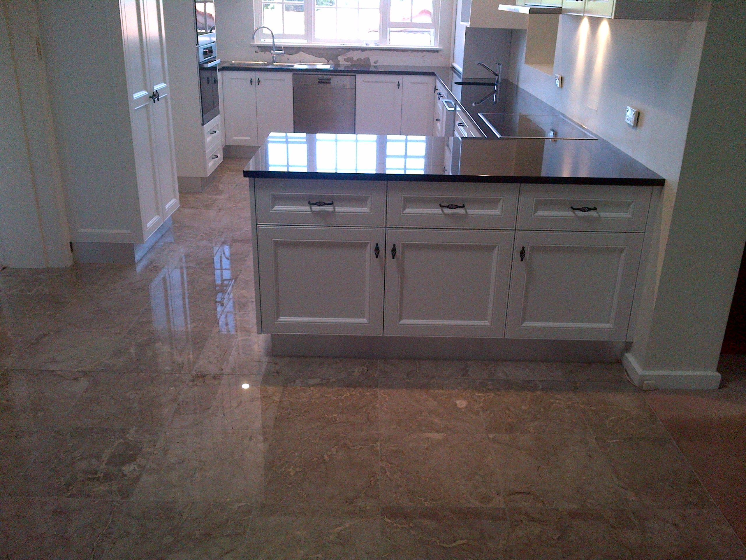 Polyurethane Finish Granite Benchtop Custom Designed Granite Benchtop Design Kitchen