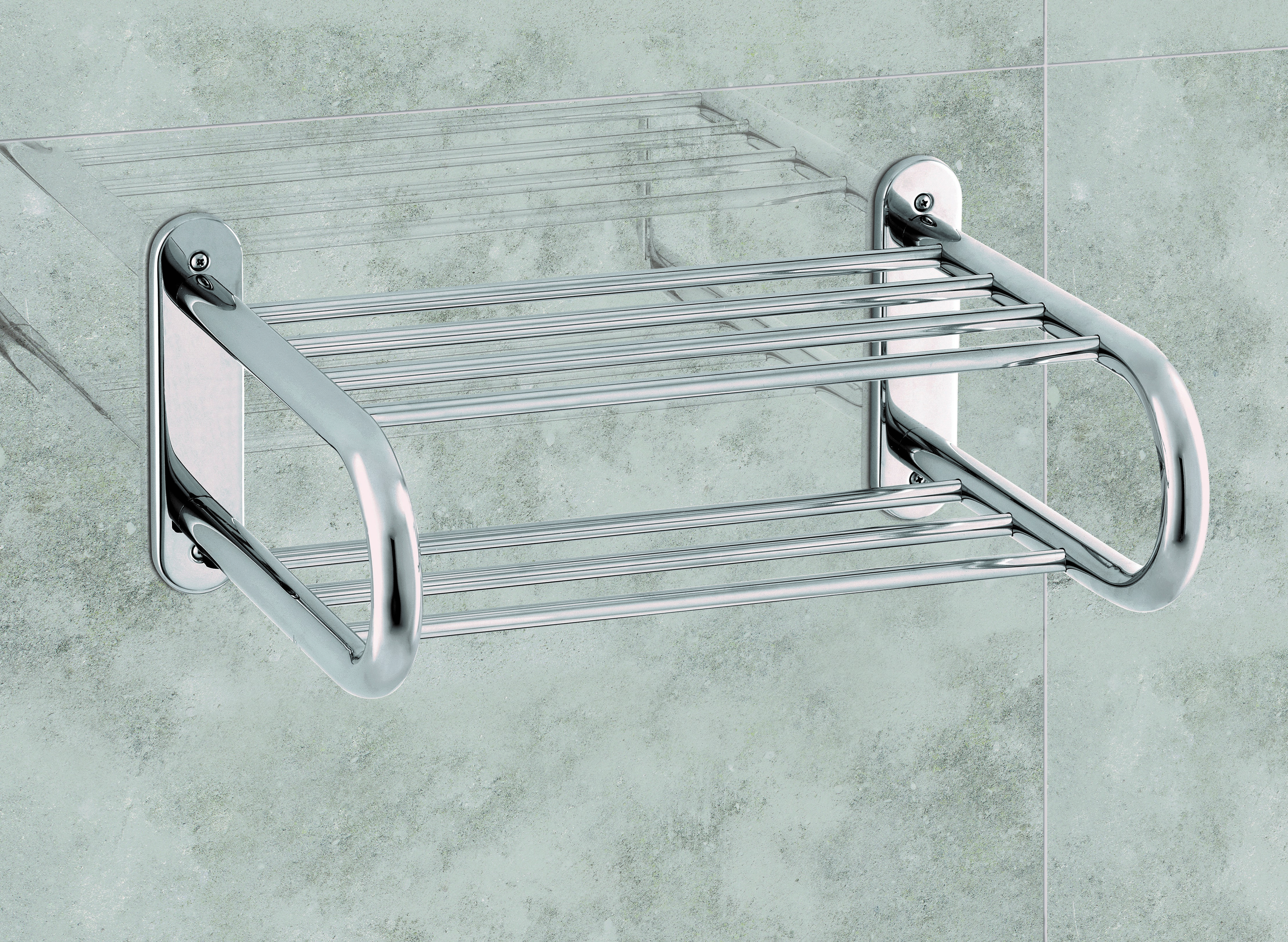 Toallero Electricos Compact De Acero Inoxidable Con Switch Para