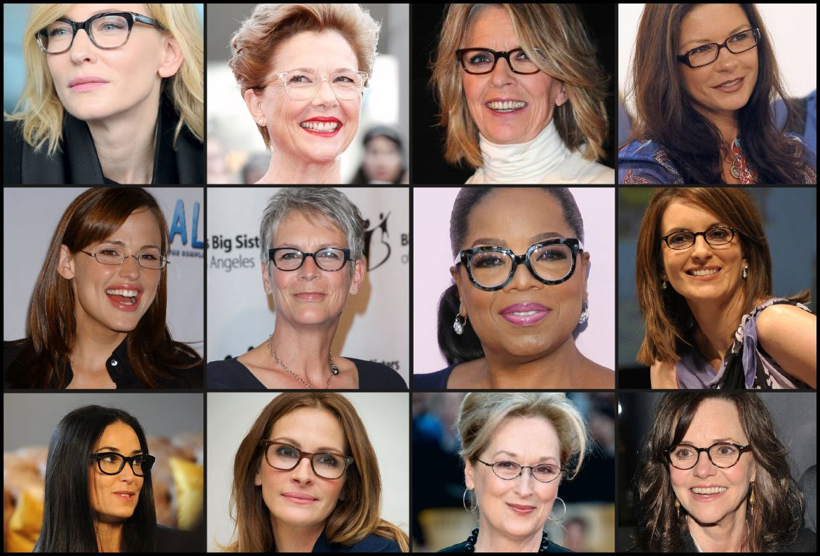 Celebrity Reading Glasses Get The Look In The Groove Reading Glasses Celebrities Celebrities Reading