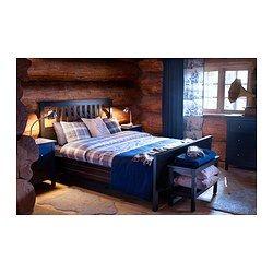 Hemnes Bed Frame Black Brown Luroy Hemnes Bed Hemnes Bed Frame