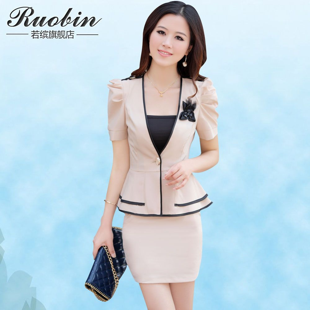 female work suits | Free shippping! 2013 summer fashion OLslim ...