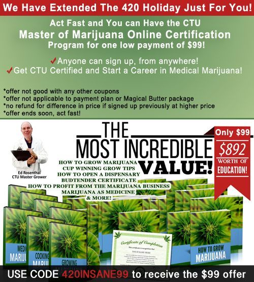 Learn How To Grow Weed | Cannabis Training University | Cannabis ...