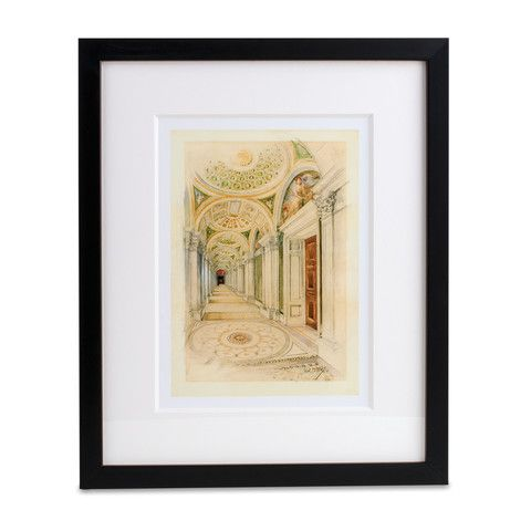 Congressional Library Print – Library of Congress Shop
