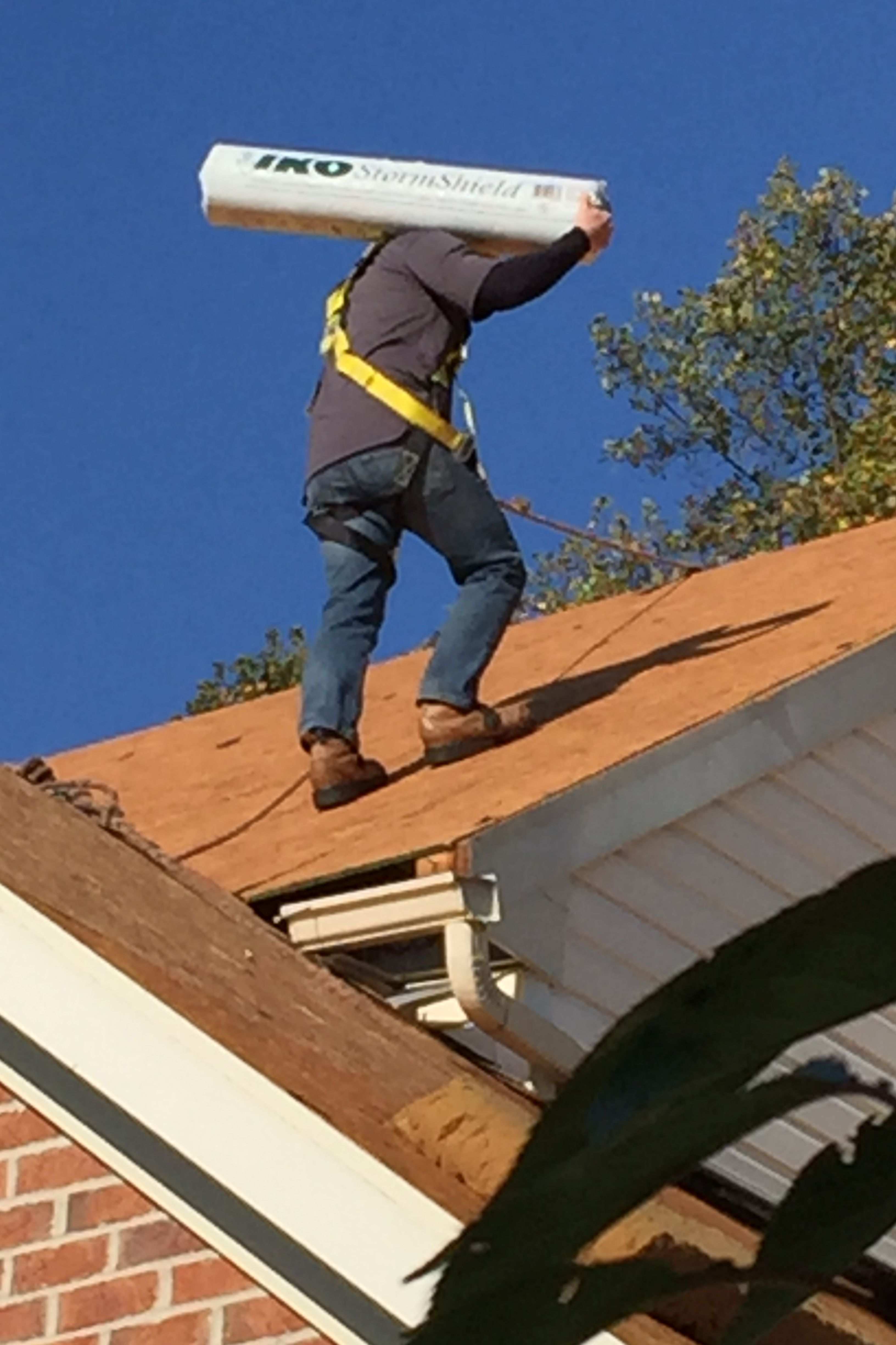 Iko shingles stormshield roofer roofing services