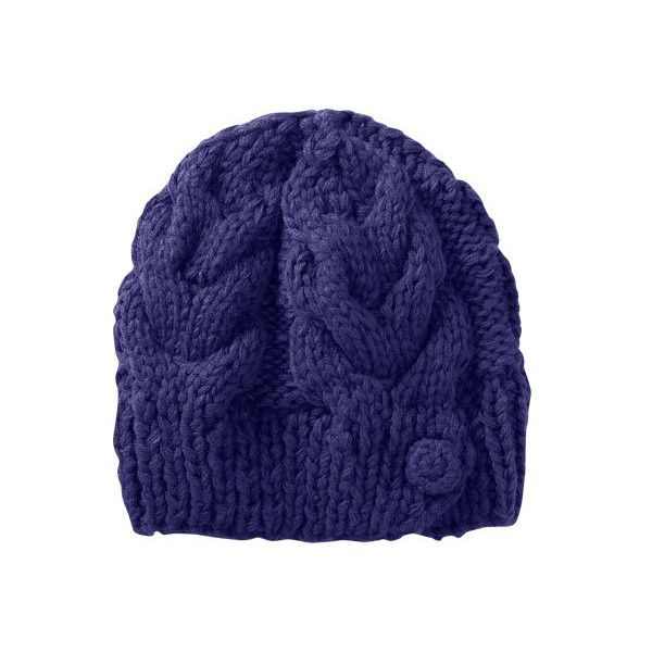 f7e6128d Women's Merrell Matawin Beanie - Fig Winter Hats ($29) ❤ liked on Polyvore  featuring accessories, hats, purple, knit beanie caps, holiday hats, beanie  hats ...
