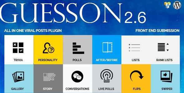 Guesson All In One Viral Quiz Polls Wordpress Viral