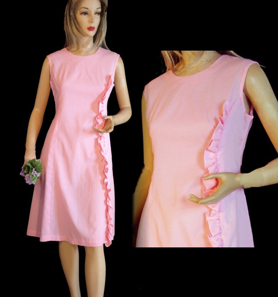 Vintage 60s DRESS MOD Mad Men Era Sweet by susiesboutiquecloths ...
