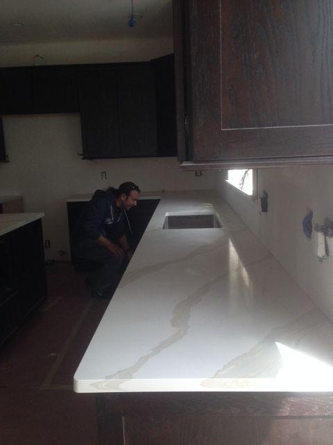 Pental Quartz Calacatta Countertop
