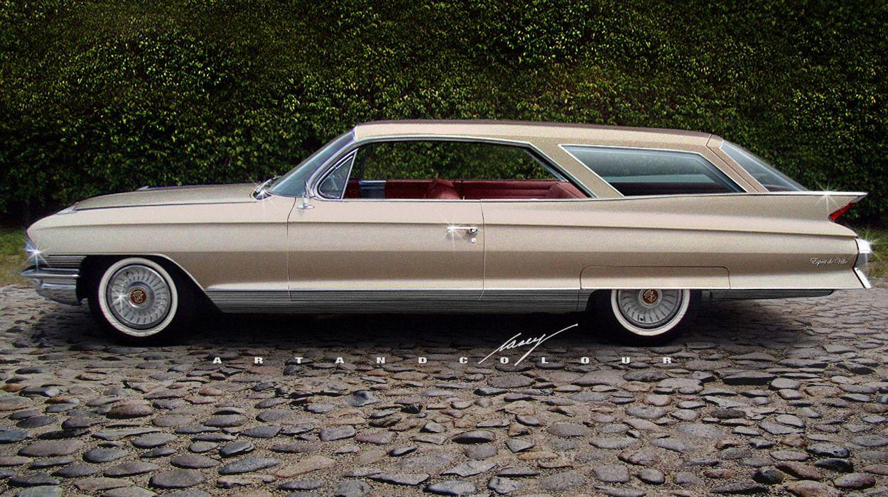 1961 Cadillac Esprit De Ville Sportwagon Car Stuff El Dorado