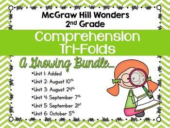 Amazing! McGraw Hill Wonders 2nd Grade - Comprehension