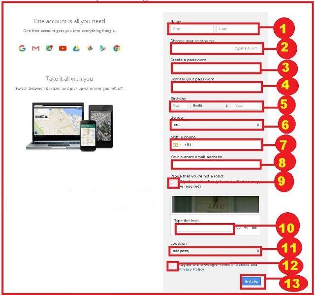 Google Gmail Account Kese Banaye Hinglish Help Accounting Gmail Google