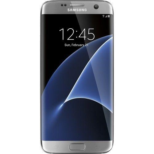 Best Buy Samsung Galaxy S7 Edge 32gb Silver Titanium Verizon Smg935vzsa Samsung Galaxy Samsung Galaxy S7 Edge Samsung Galaxy S7