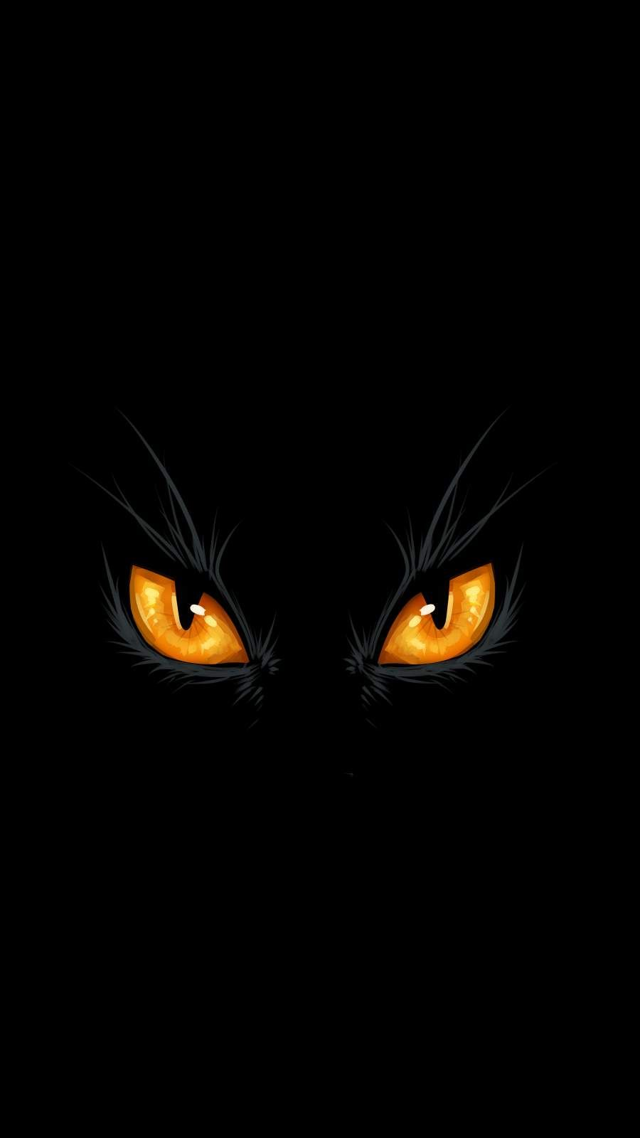 Black Cat Eyes Iphone Wallpaper Cat Wallpaper Eyes Wallpaper Black Phone Wallpaper