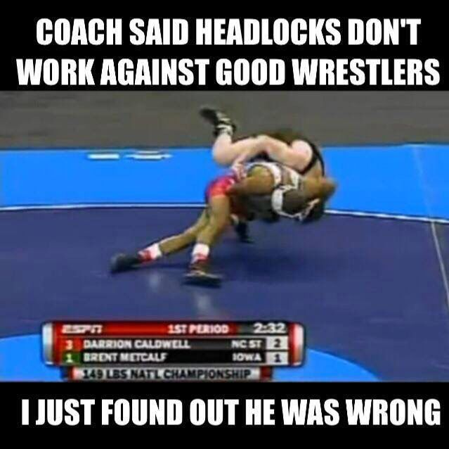 Headlock Throwers You Know Who You Are