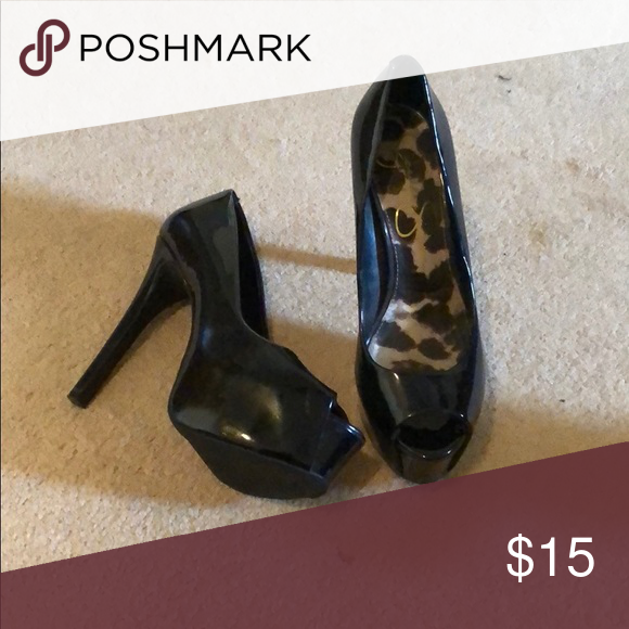 Peep toe heels, Heels, Shoes women heels