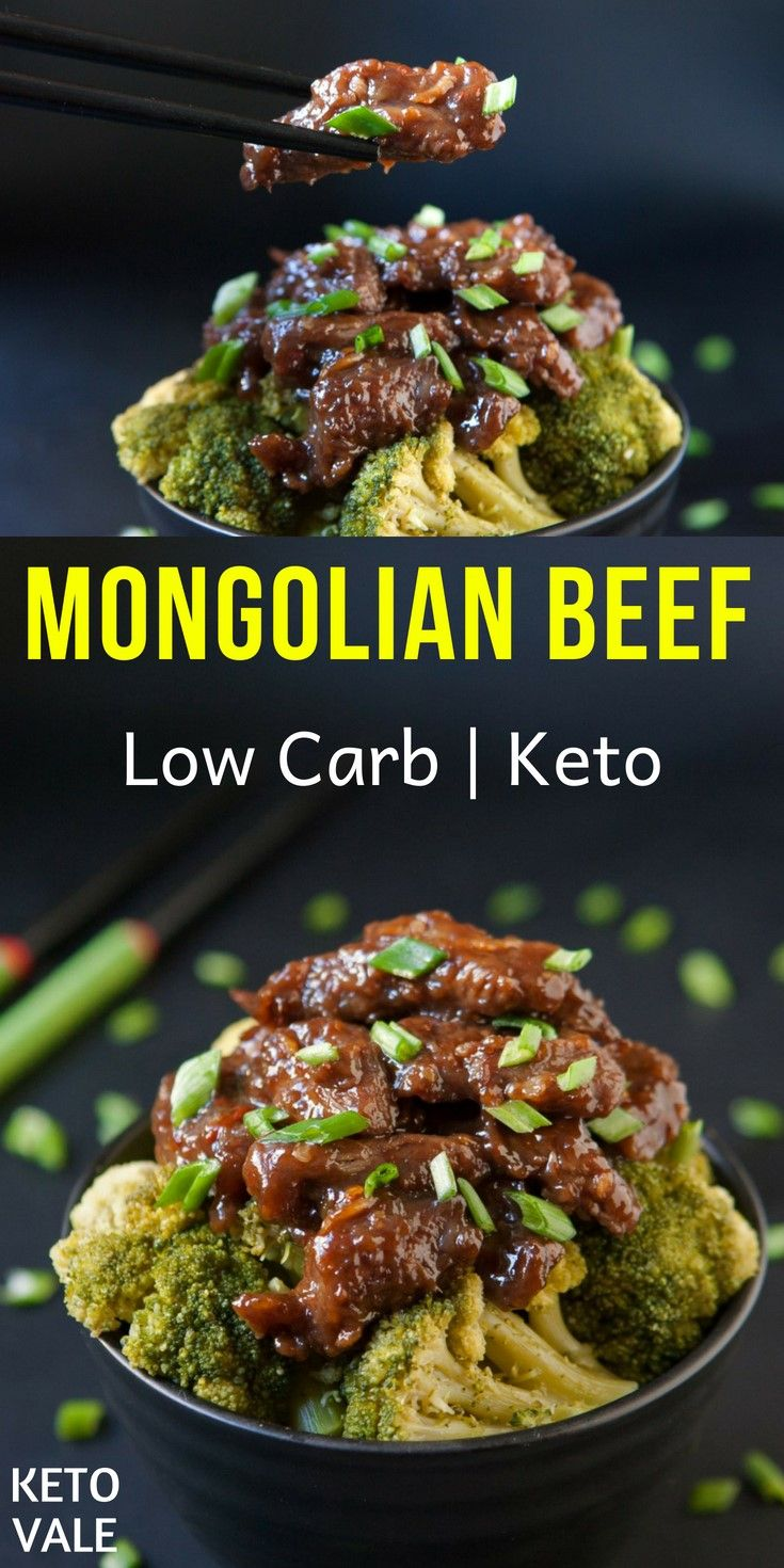 Low Carb Mongolian Beef Recipe For Keto Diet Keto Recipes Dinner Beef Recipes Easy Keto Recipes Easy