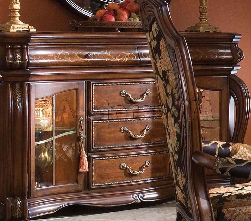 Largest China, Buffets And Cabinets Collection: The Oppulente Sideboard  Presents One Of AICO. Michael Amini Original Furniture Designs That Is  Inspired By ...