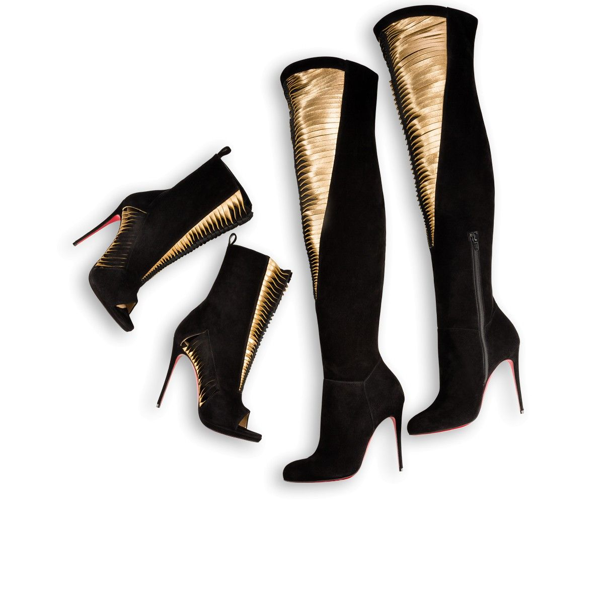 f69bc2da8874 SIEGFRIDALTA VEAU VELOURS 100 Black Mekong Veau velours - Women Shoes…