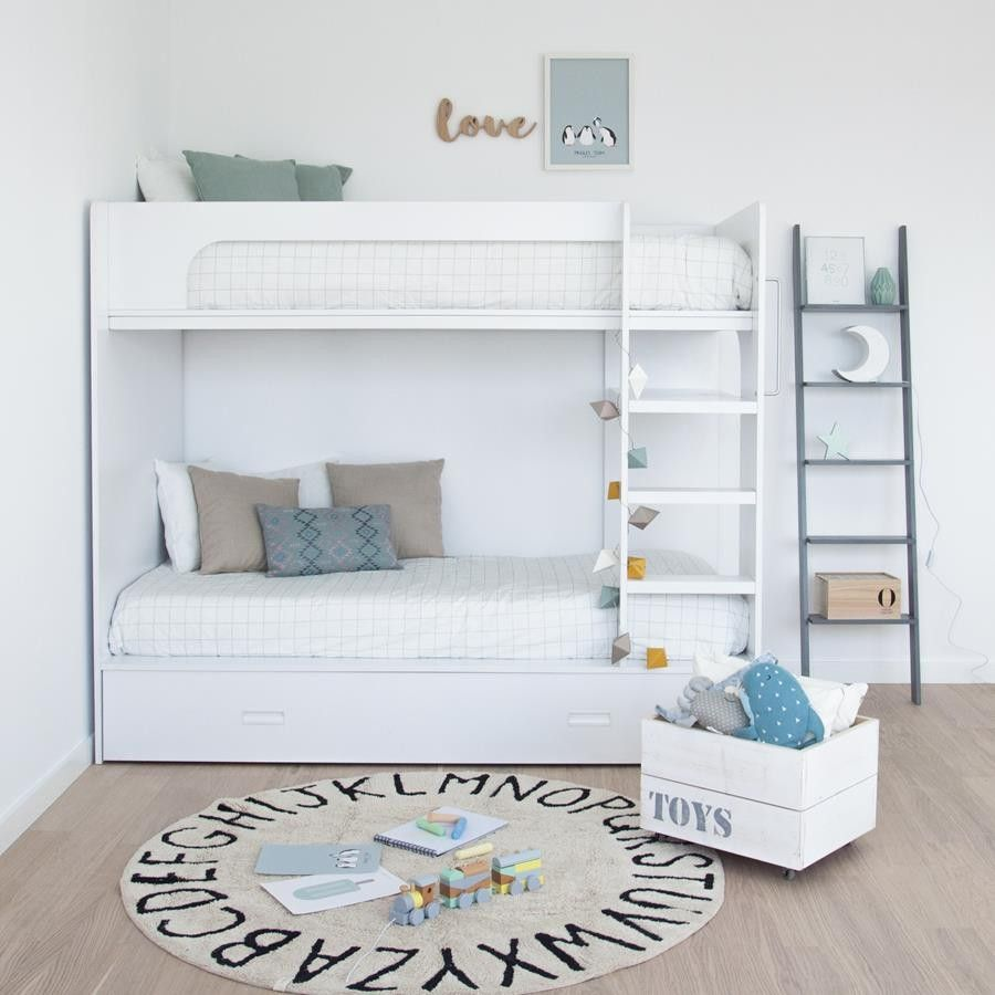 Photo of Bed w / wheels – Nesting beds / Bunk beds – Children / Youth – Kenay Home