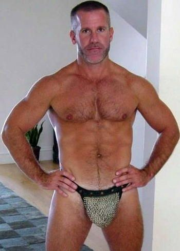 Gay mature hairy men