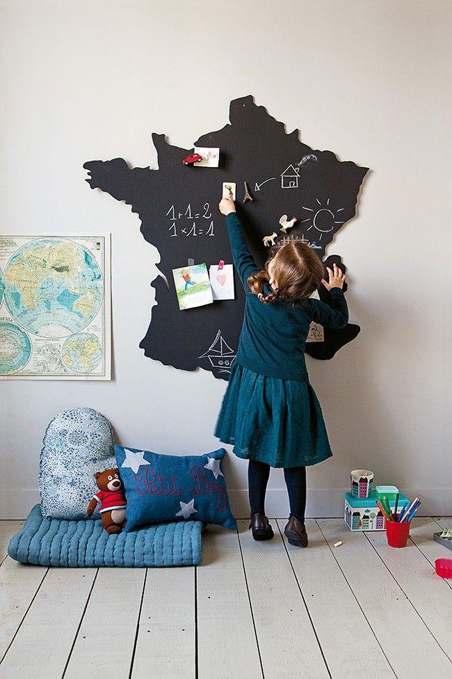 Aménagement : 23 idées pour une chambre d'enfant ludique et originale