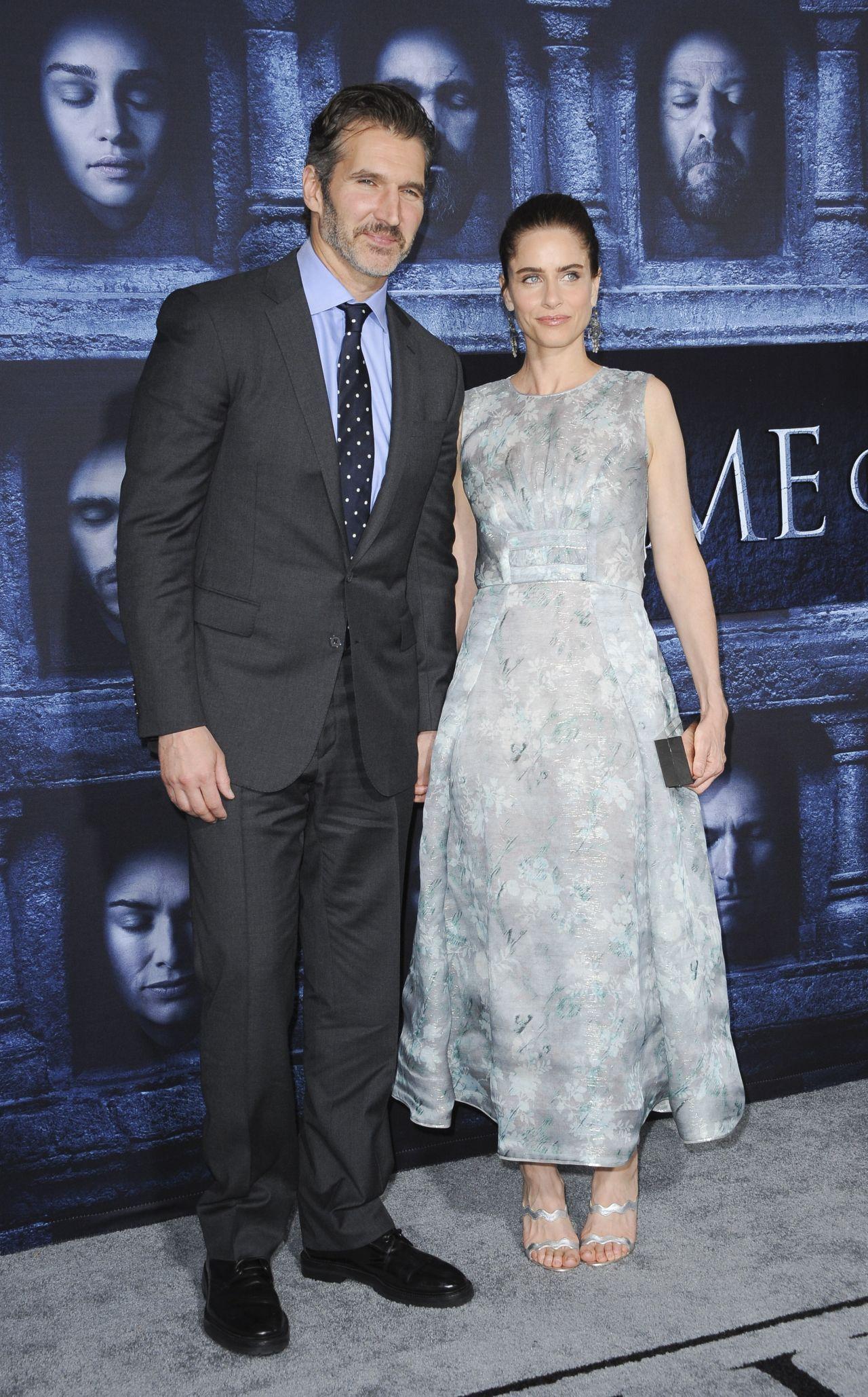 Amanda Peet Defends Husband David Benioffs Game Of