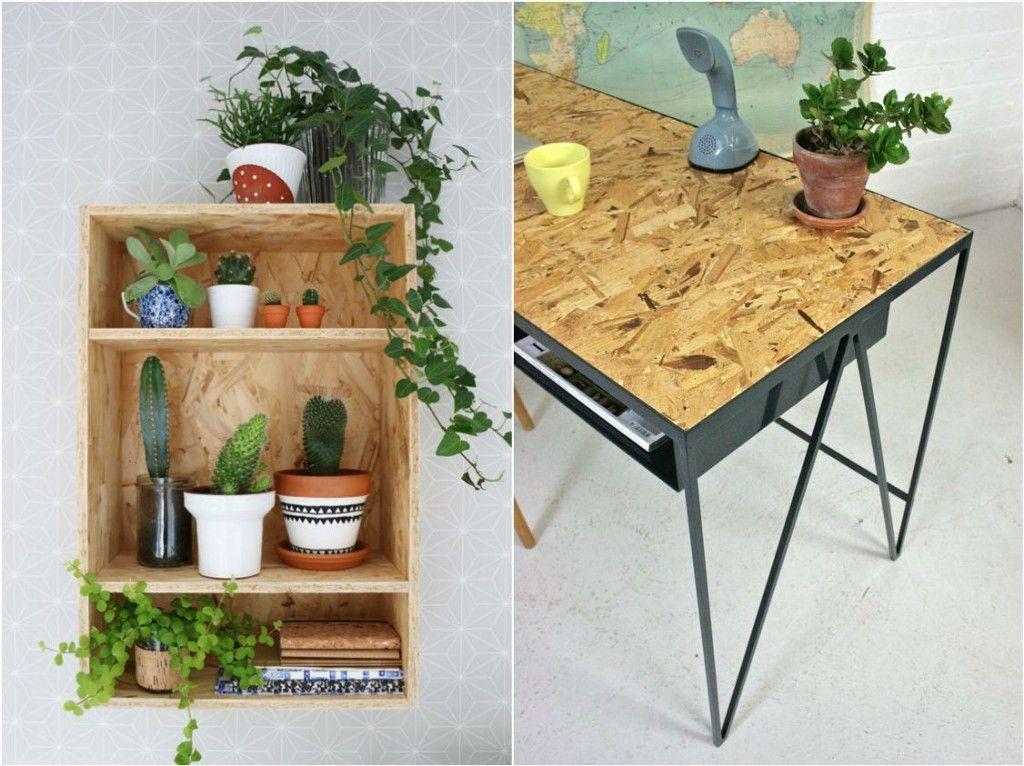 muebles osb | casa | Pinterest | Paneles de madera, Panel y Madera
